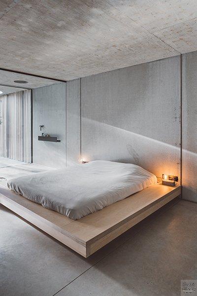 Ensuite badkamer, Slaapkamer, Bad, Bed, Douche, Inspiratie, Icoon.be