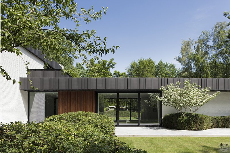 Gevelbekleding, Villabouw, Moderne villabouw, Exterieur, JUMA Architects