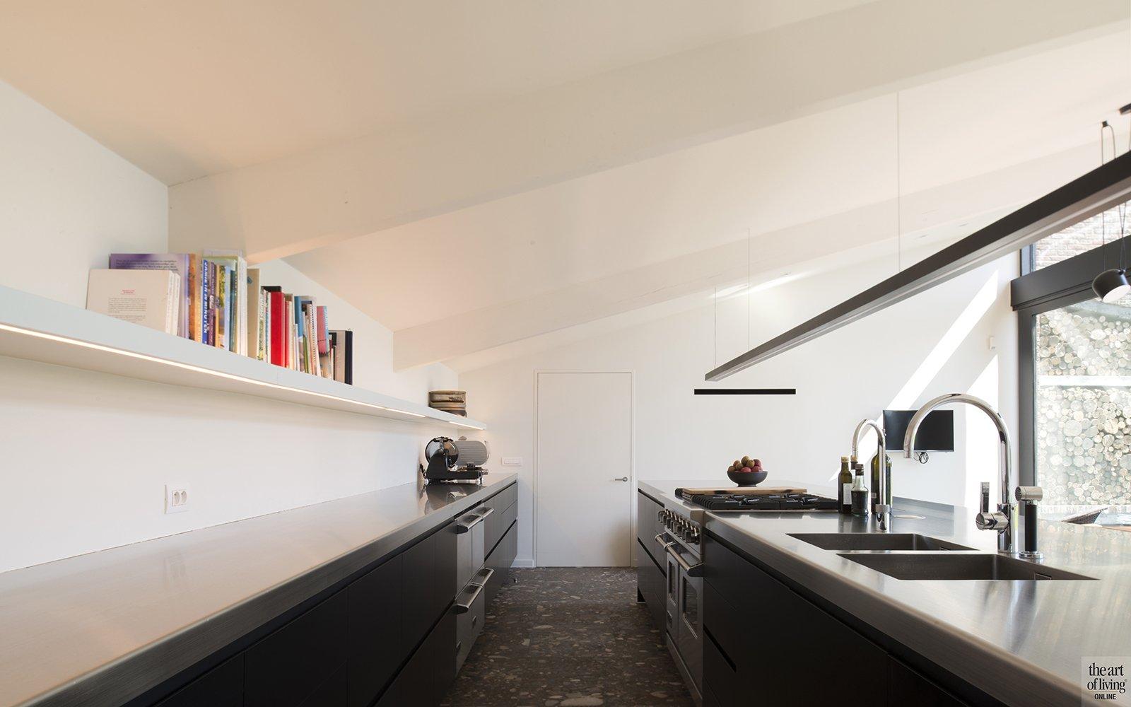 Marmeren vloer, Keuken, Inspiratie, Philip Simoen, Interieur