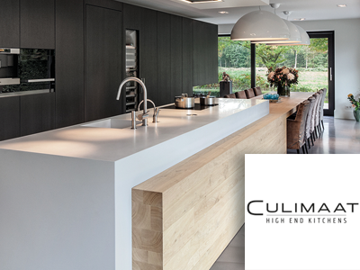 Culimaat, high end kitchens, keukens, maatwerk