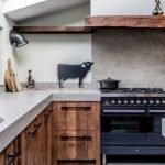 Houten keuken, dauby, deurbeslag, kwaliteit, details, afwerking, indonesië