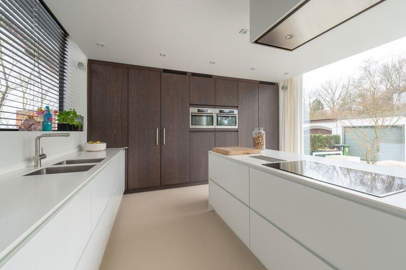 Kookeiland, Augustijns Keukens en Interieur, strak, keuken, wit, maatwerk