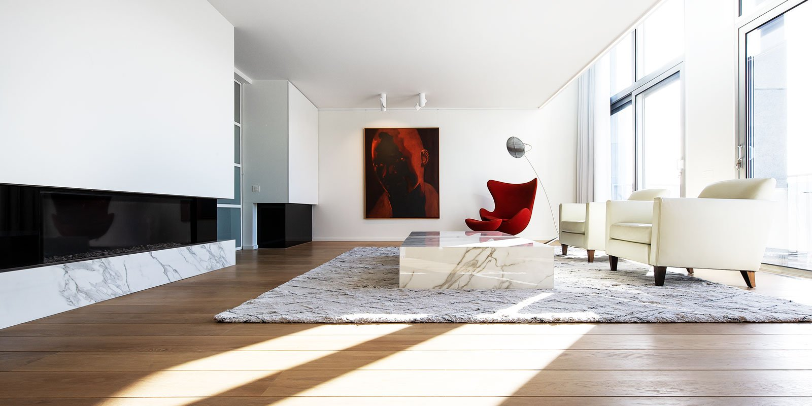 Wit interieur, LOFT4C, the art of living
