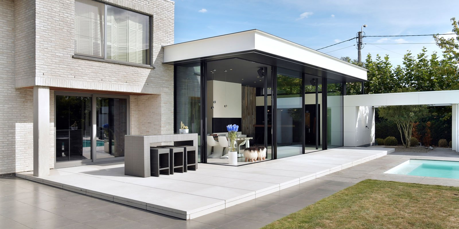 De tuinkamer, Tail Architectuur, the art of living