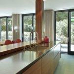Werkblad meubel, Cosentino, Houten keuken, Marmer, Modern