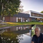 Architectenbureau Van Steenkiste, exterieur, strak, villa, energiezuinig, warme accenten