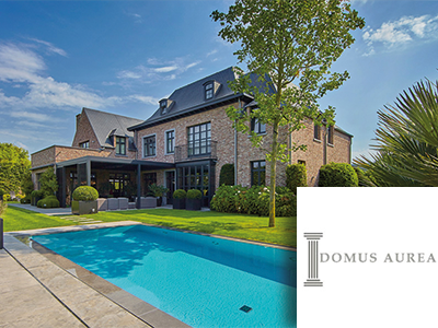 Domus Aurea, exclusieve villabouw, architect, interieur, renovaties