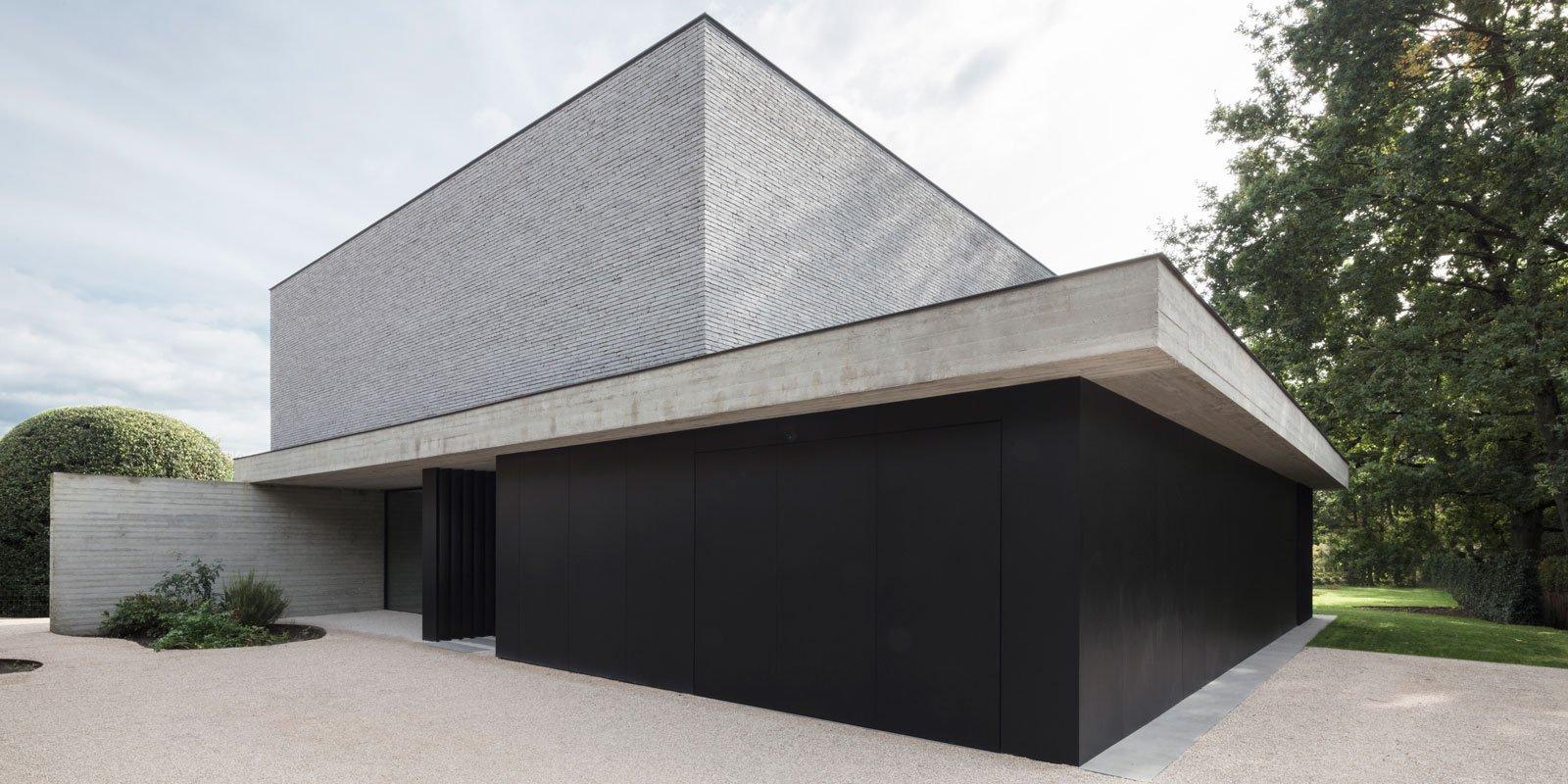 luxe villa, JUMA Architects, moderne architectuur, strak interieur