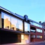 witte keuken, steven de jaeghere, moderne architectuur