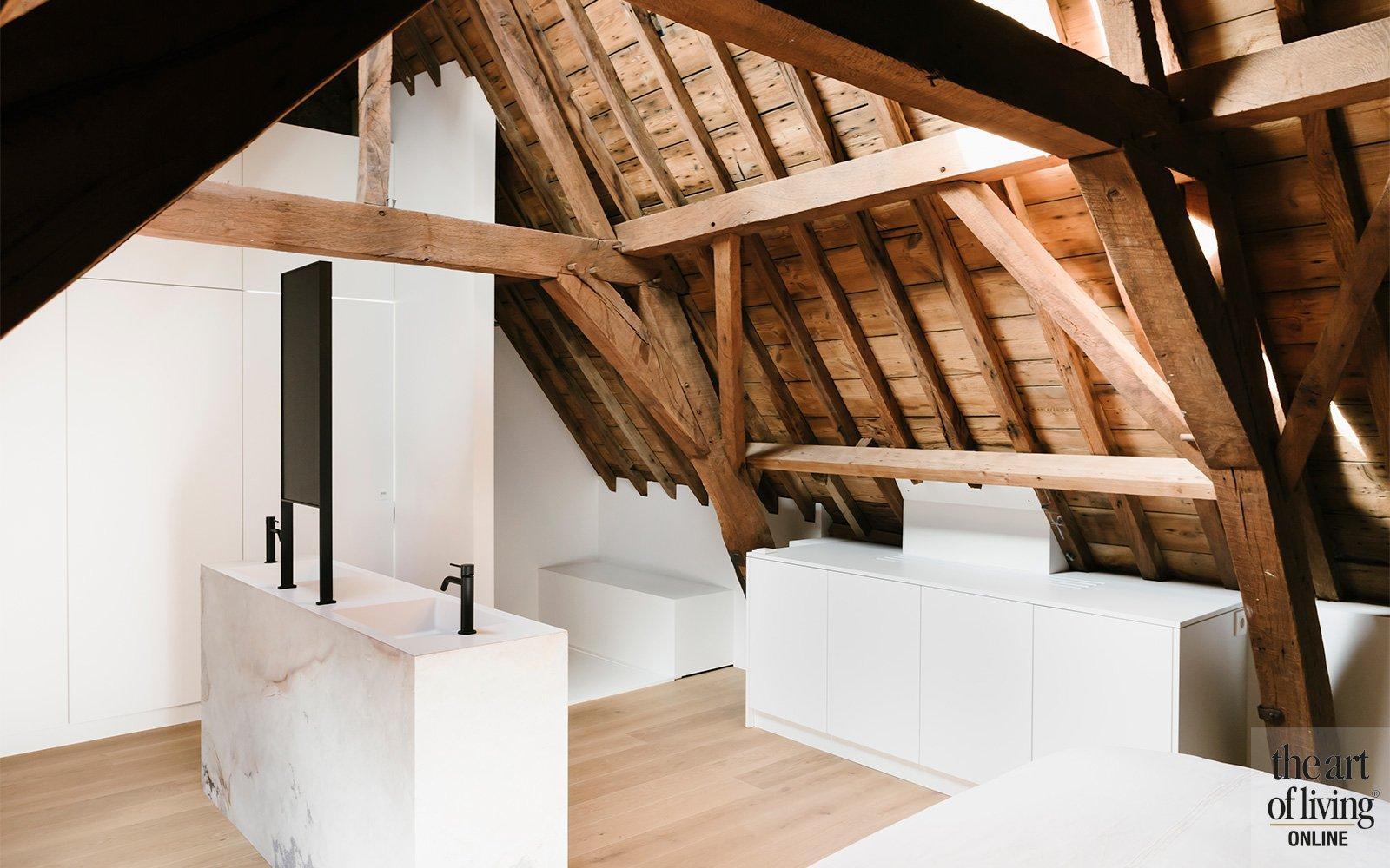 minimalistisch, AnA Interior, ruwe materialen, open interieur, appartement