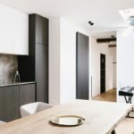 minimalistisch appartement, AnA Interior, ruwe materialen, open interieur, appartement