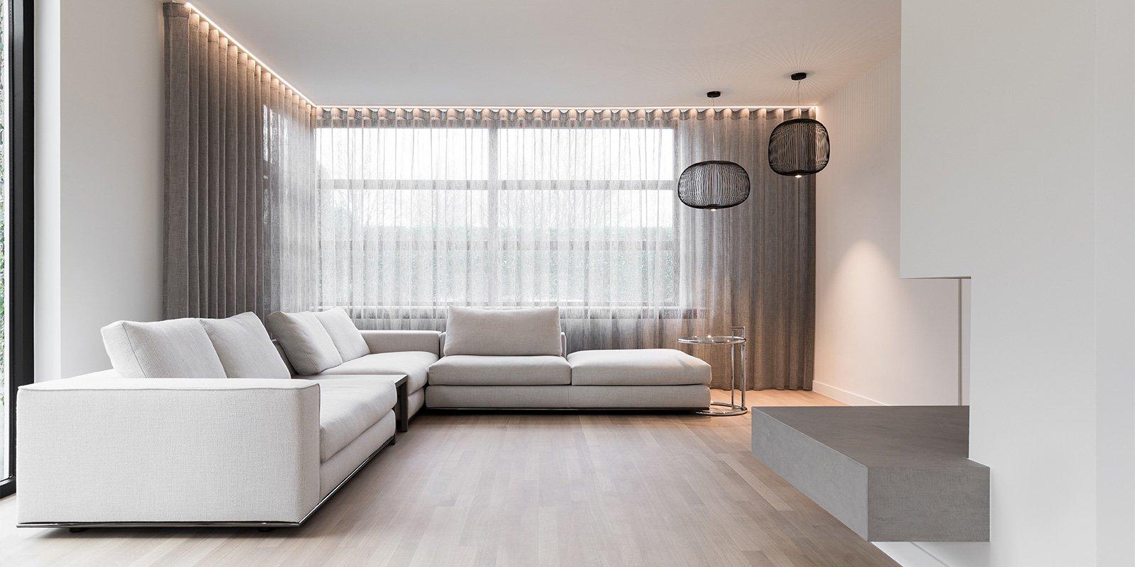strak en minimalistisch, loft4c, filip deslee, minimalistisch, ruimtelijk, licht