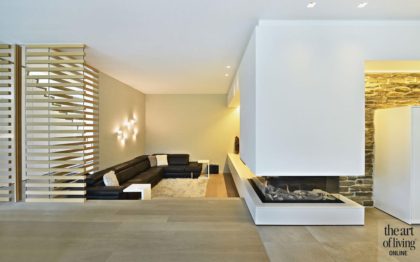 Paradijselijke villa, Jo Heyens, witte villa