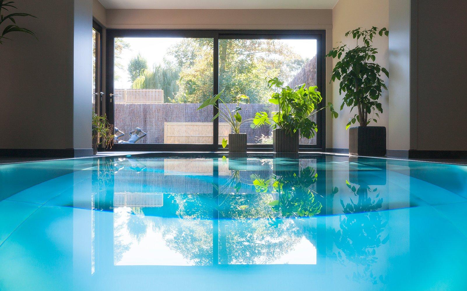 Exclusief binnenzwembad, zwembad, wellness, Nouv'eau Zwembaden