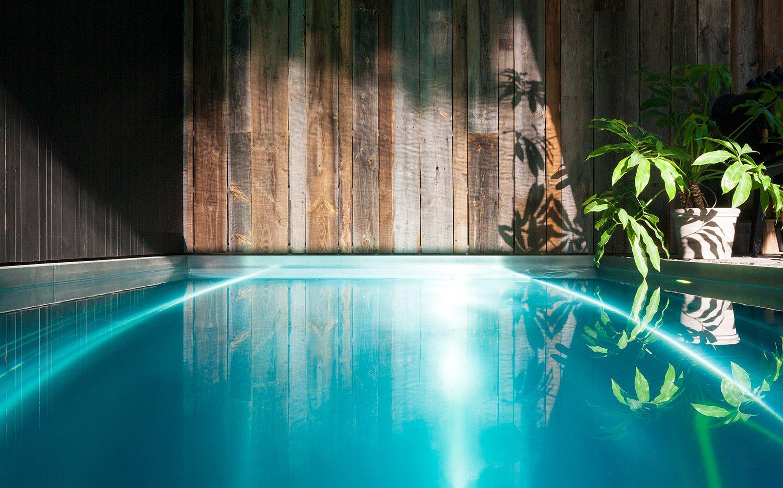 overkapping, Nouv'eau zwembaden,