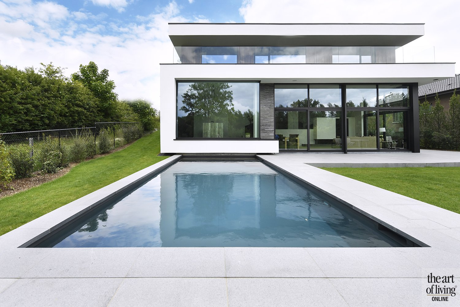 Witte Villa, A-projects, the art of living
