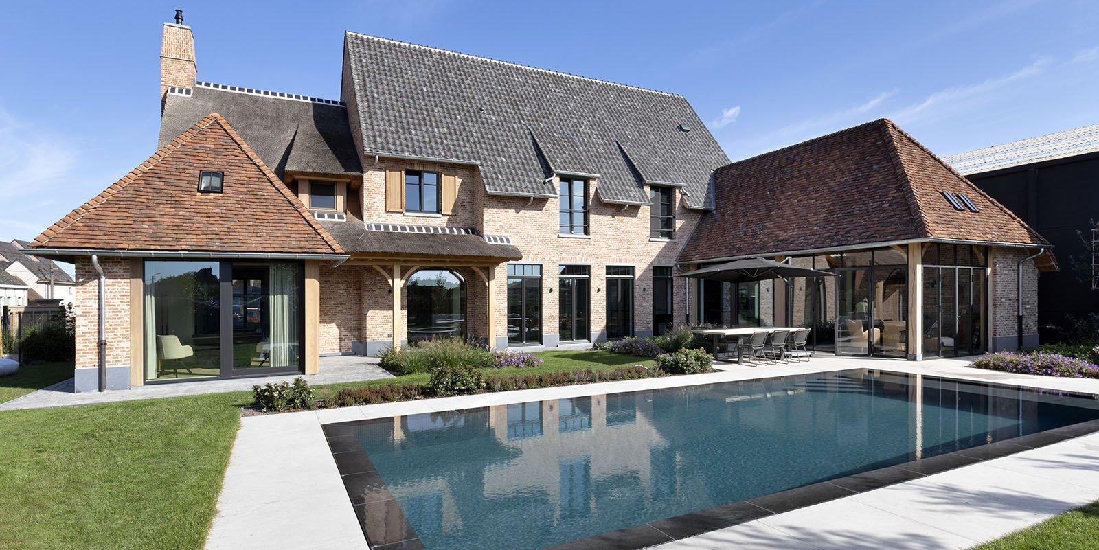 landelijke villa, Frank Gruwez, the art of living
