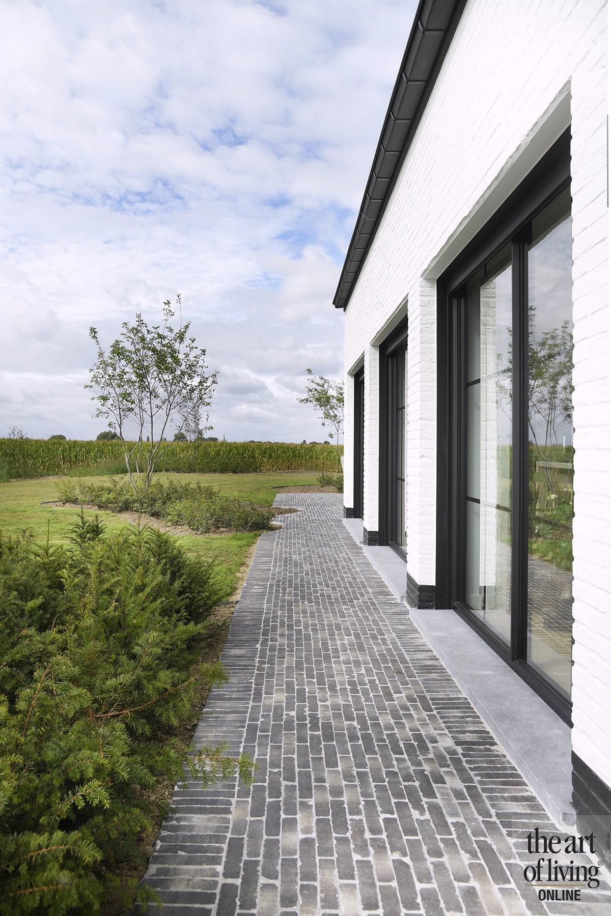 Verbouwde boerderij, Jelle van der Casteele, the art of living