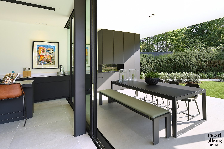 villa tuin, Icoon Architecten + De Appelboom, the art of living