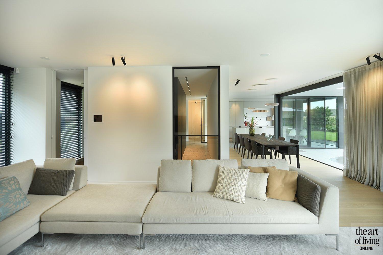 witte keuken, Schellen Architecten, the art of living