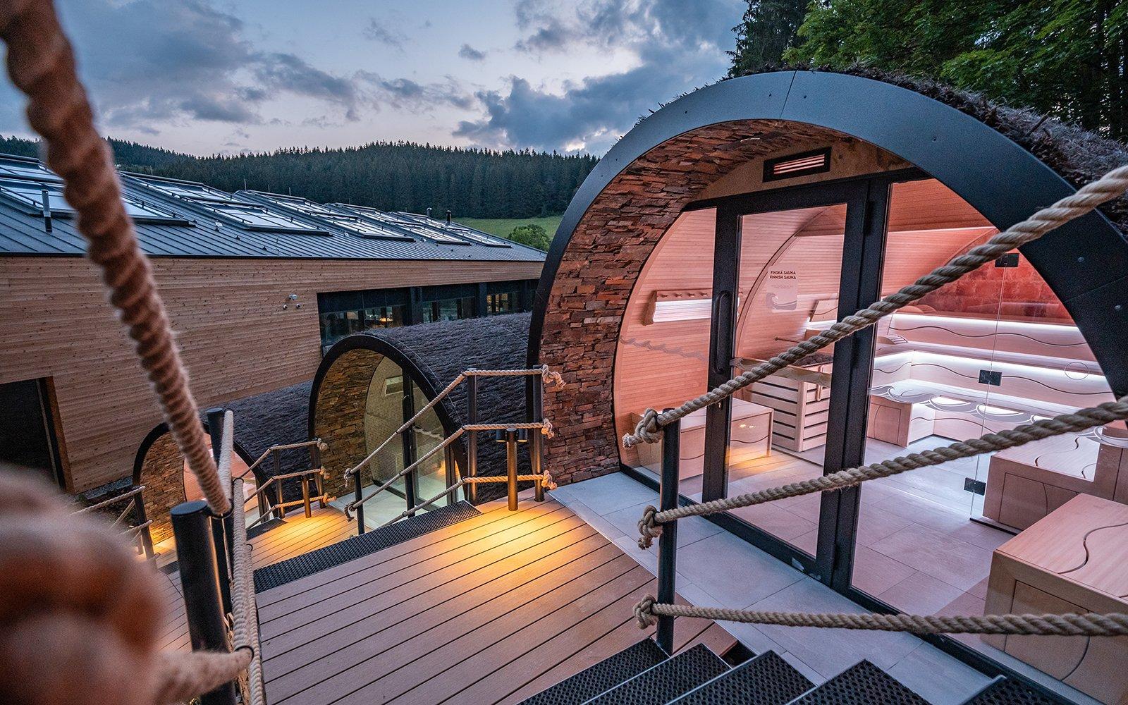 sauna's, Alpha Industries, The Art of Living