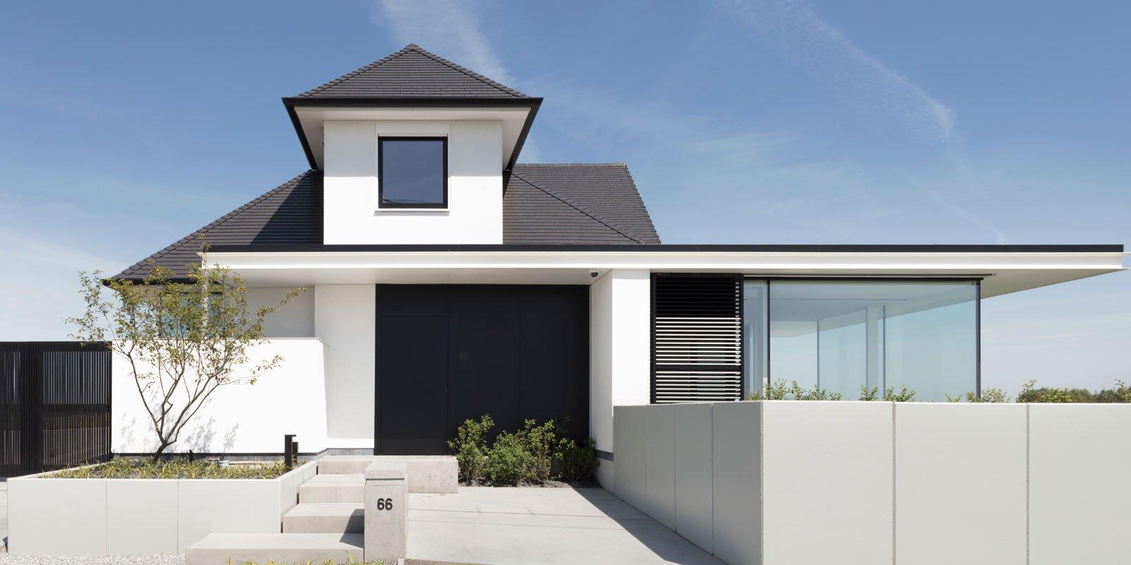 Moderne landelijke villa, moderne landelijke villa, Klou Architecten