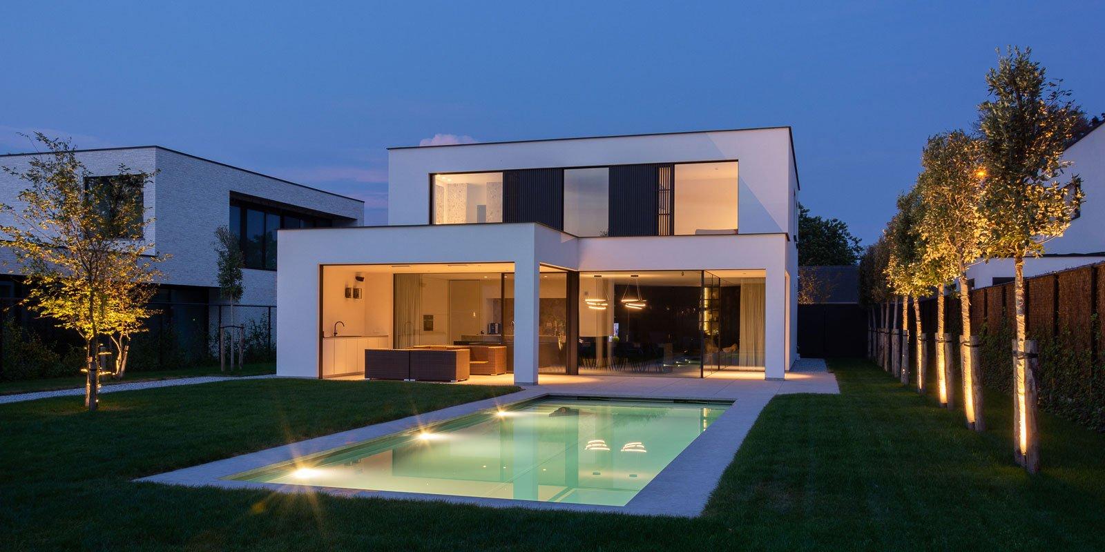 Strak interieur, Demo architecten, the art of living
