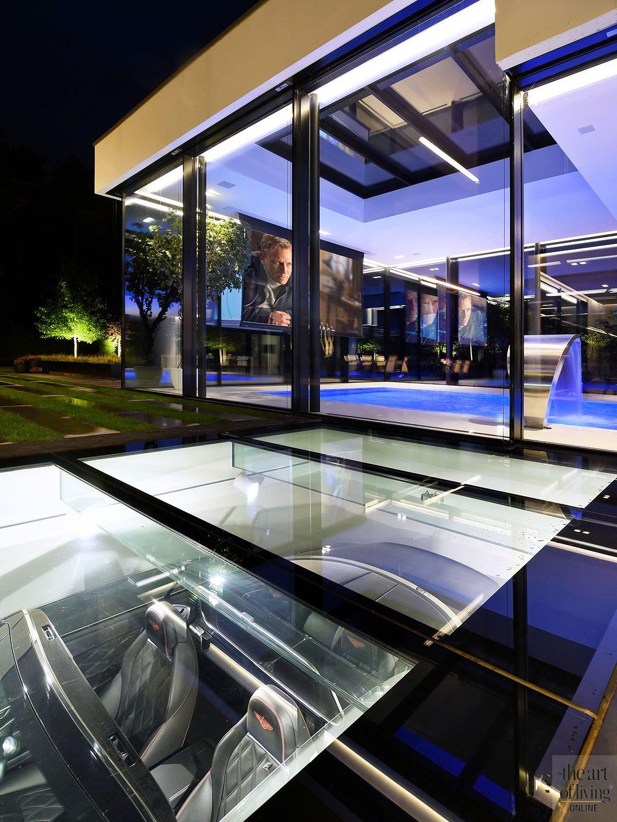garages, luxe garage, autogarage, villa