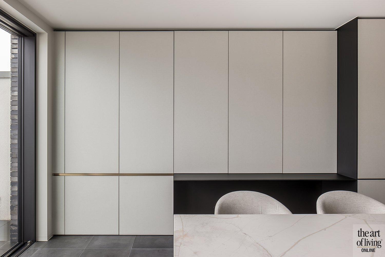 Open keuken, Steven Van Compernol Interieur, The Art of Living