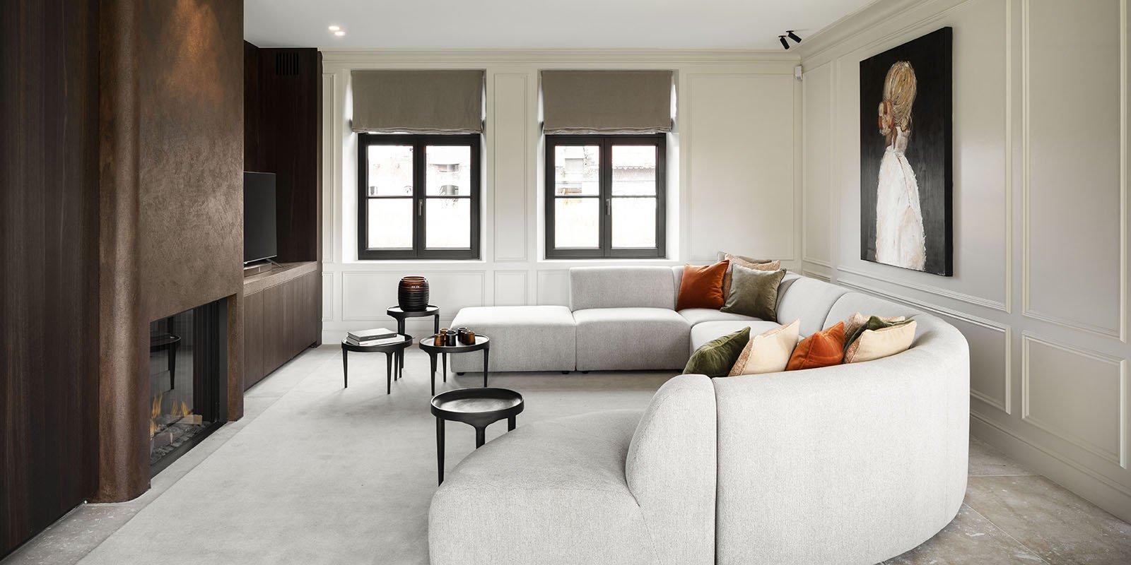Warm modern interieur, warm modern interieur, Sur Mesure Interieur