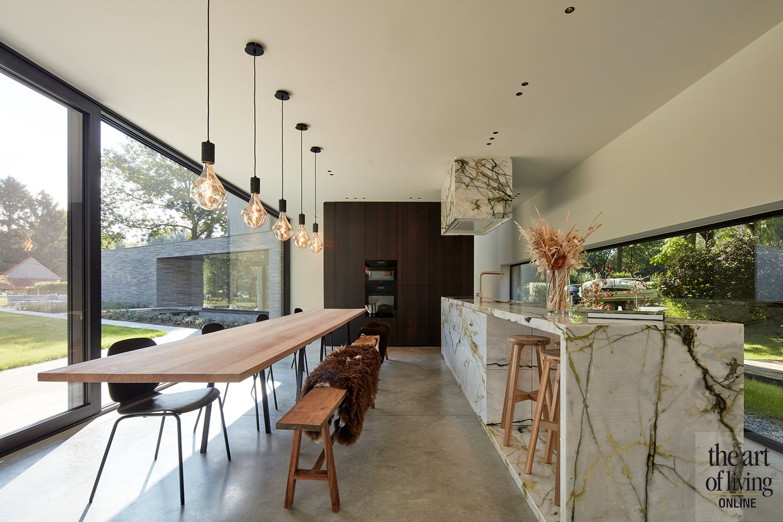 Hedendaagse villa   Studio Segers, the art of living