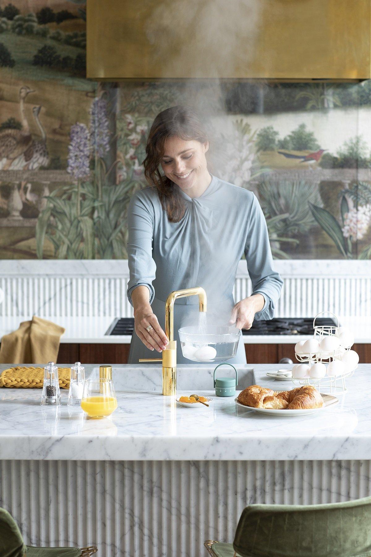kokendwaterkraan, quooker, keuken, the art of living