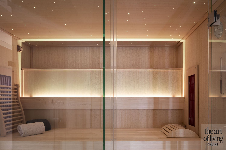 Sauna op maat | Alpha Industries, the art of living
