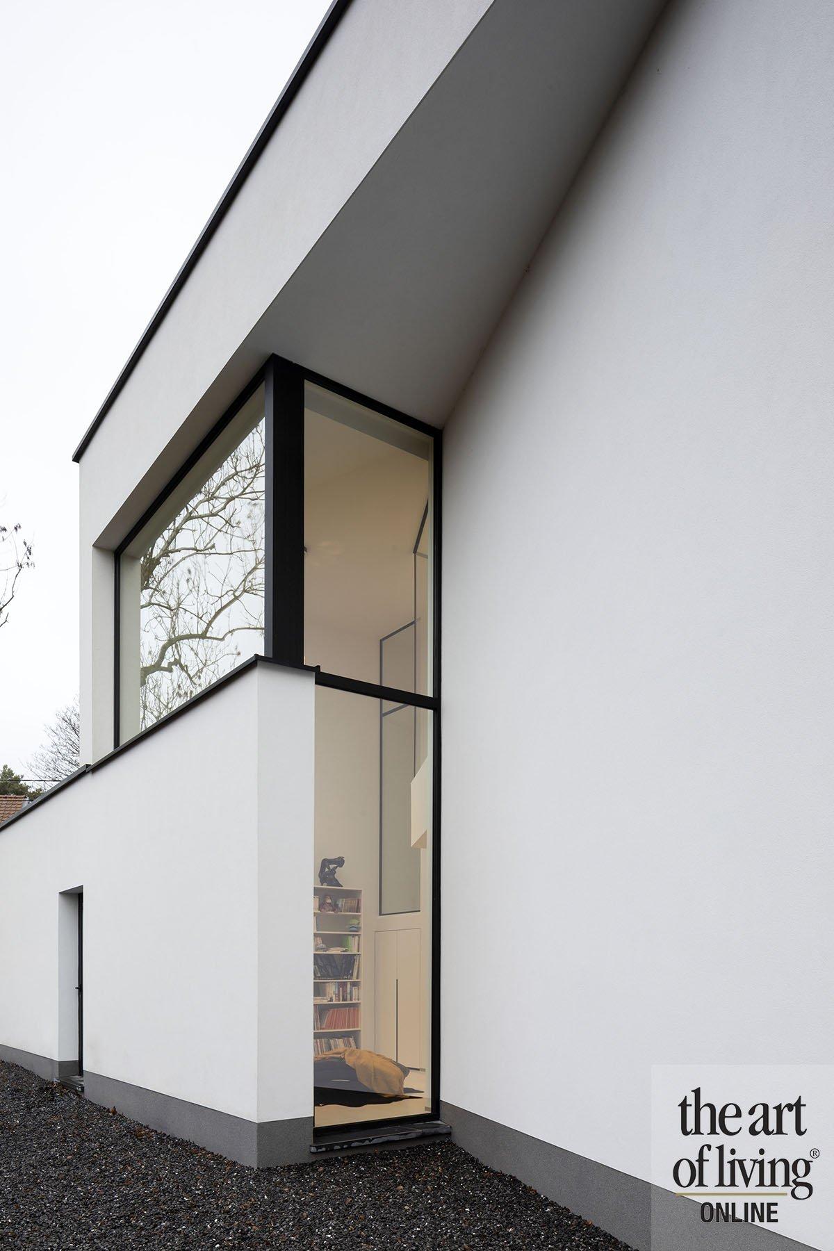 Zwart-wit interieur | Herva vanden Haute, the art of living