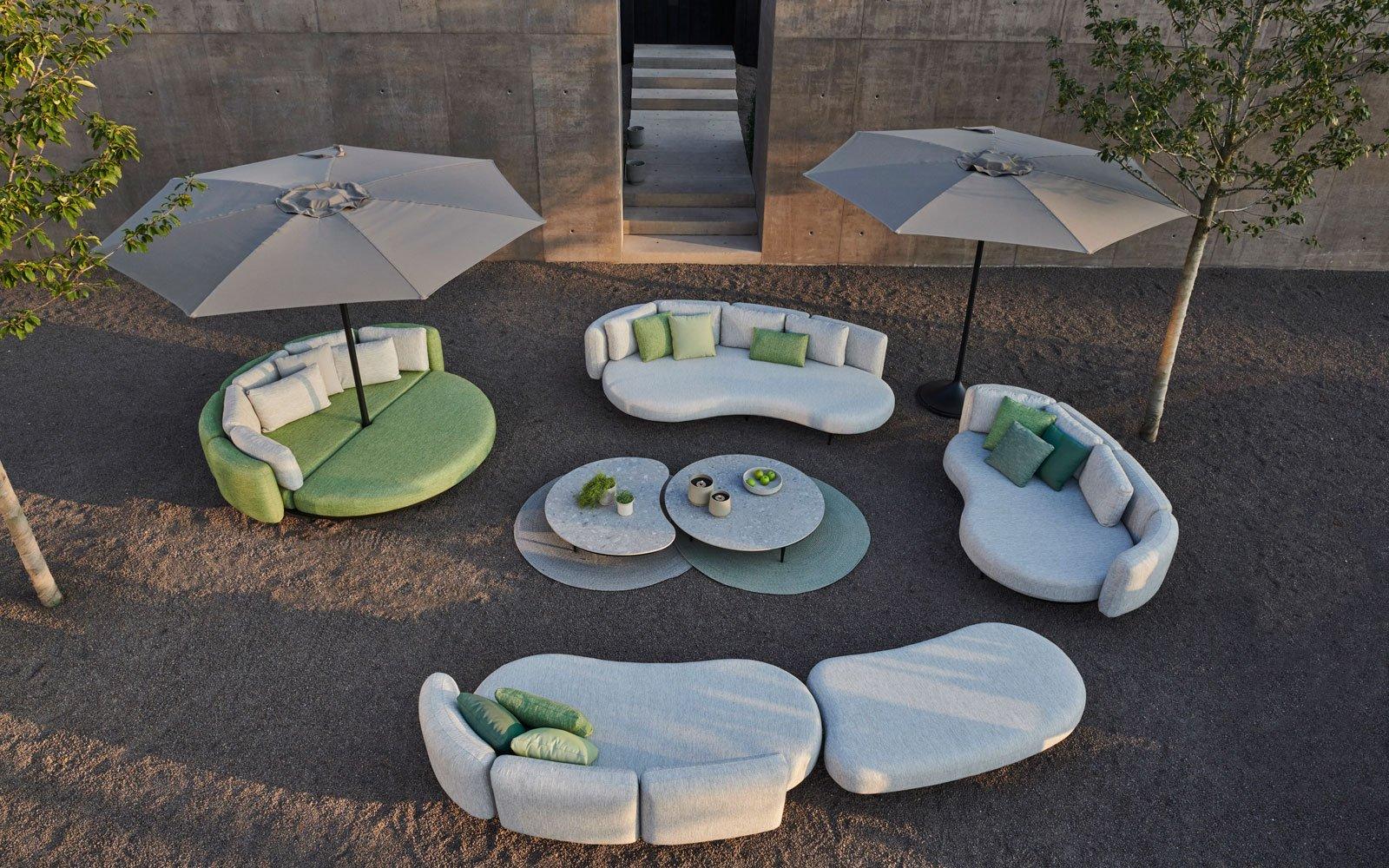 Organische meubels, Royal botania, buiten