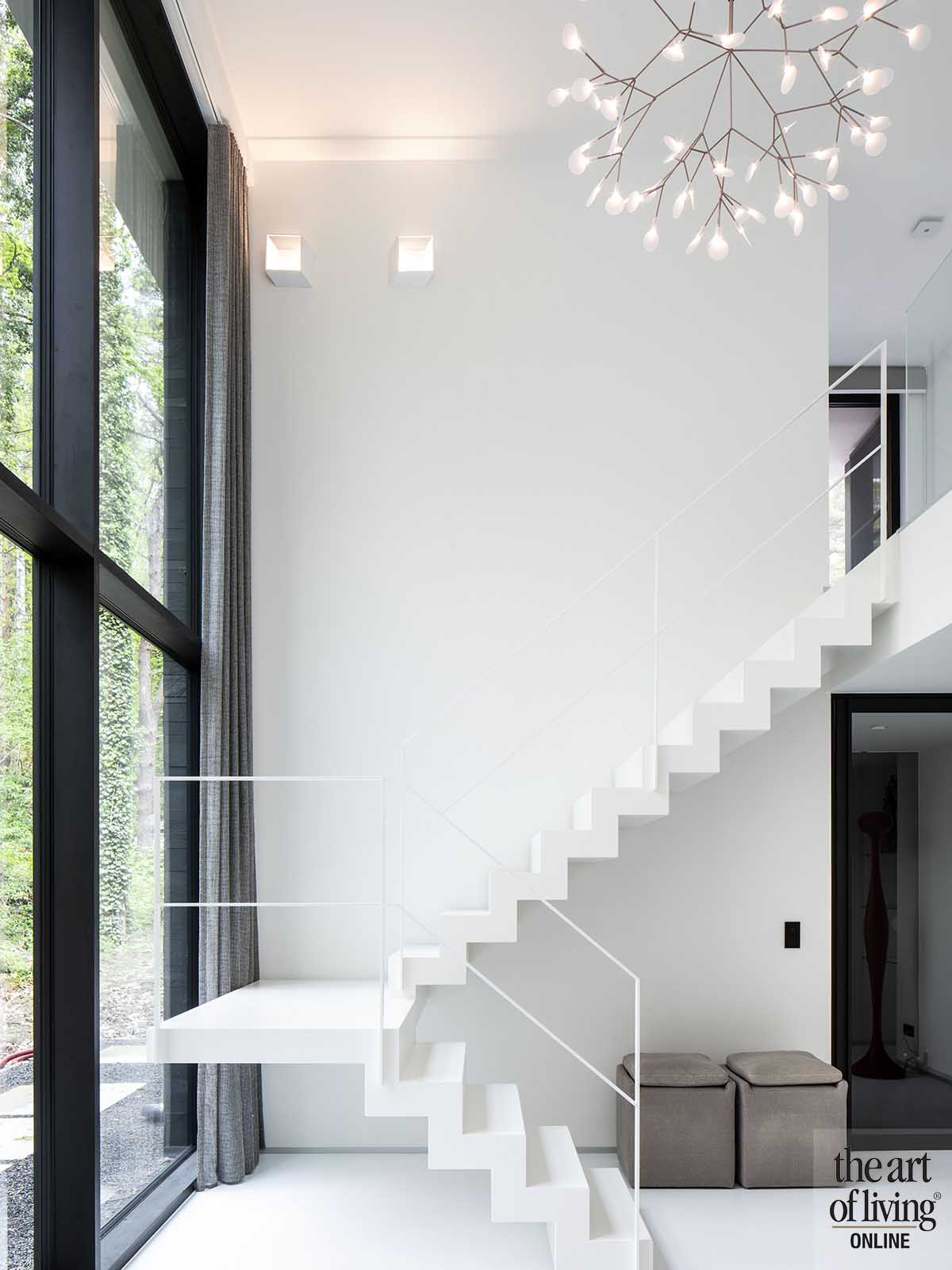 zwart wit interieur   Architectenbureau van Steenkiste, the art of living