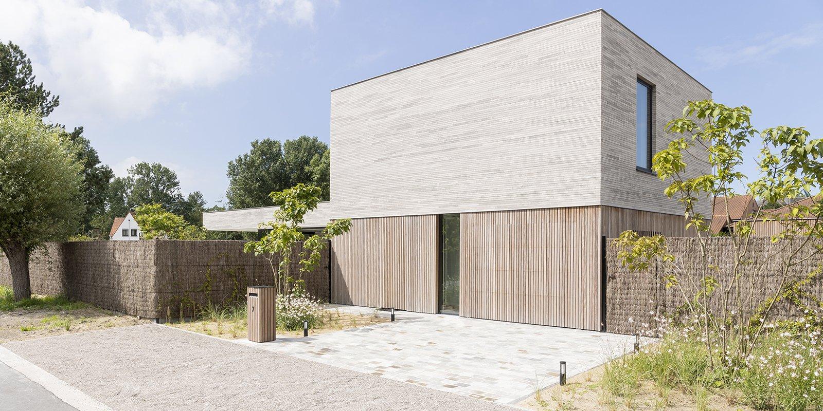 Houten gevelbekleding | DeJonghe Architecten, the art of living